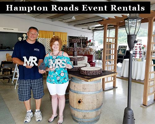 Hampton Roads Event Rentals Owners