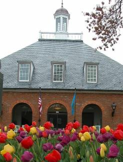 York Hall in Historic Yorktown