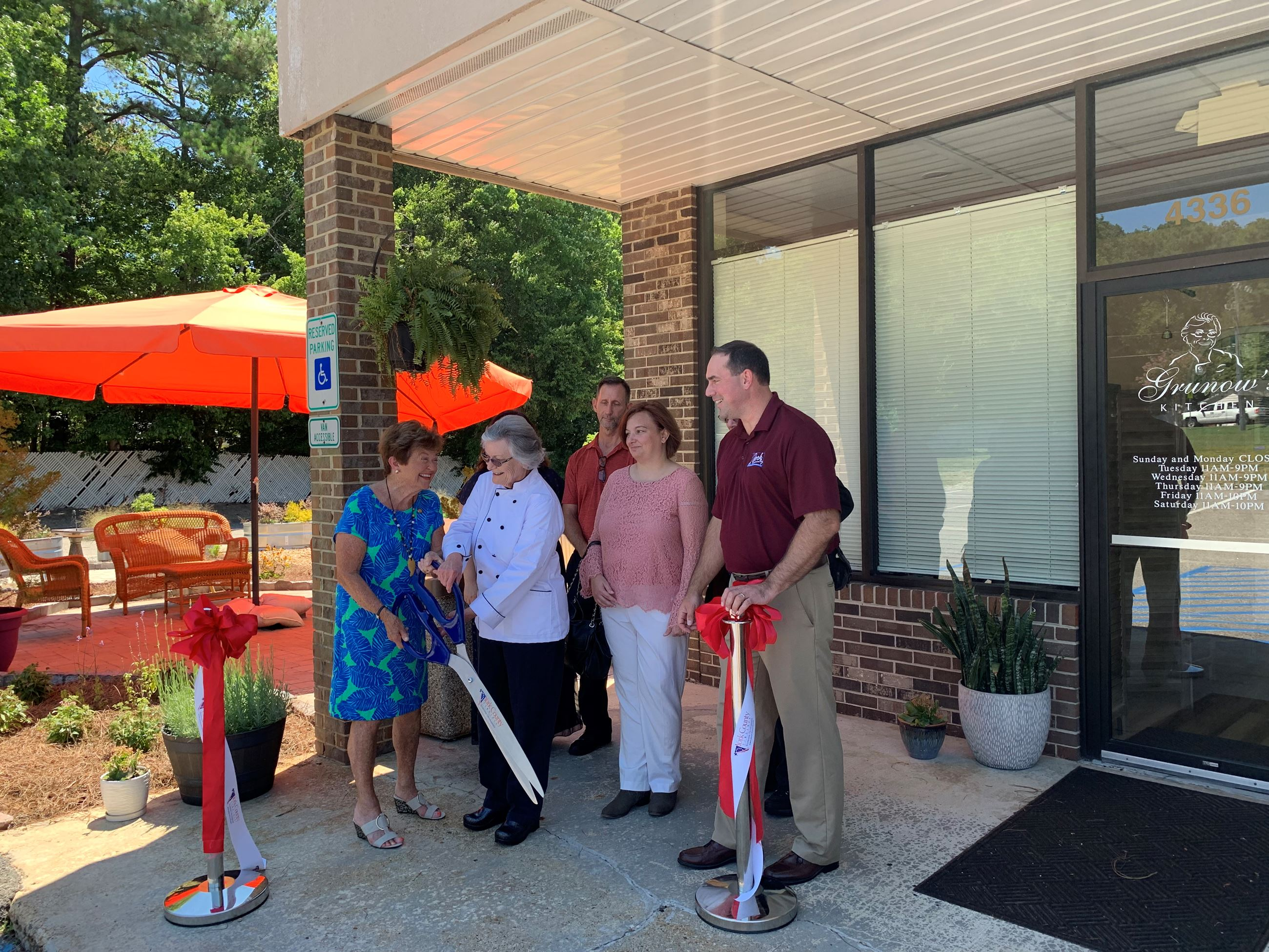 Ribbon Cutting at Grunow's Kitchen