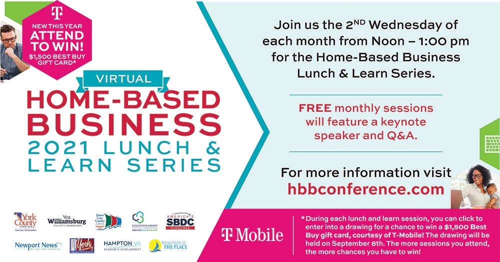 April 14 Home based Business Lunch and Learn